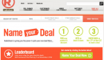 RadioShack's 'Name Your Deal' Promotion