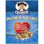 Free Sample of Quaker Oatmeal Squares