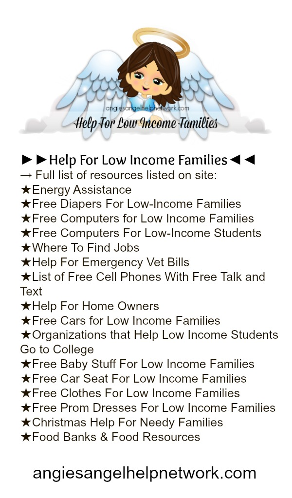 Help For Low Income Families