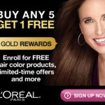 FREE L'Oreal Products Sign up to Limited Time ONLY L'Oreal Gold Rewards!