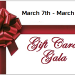 Giveaway March Gift Card Gala 3/7 – 3/13