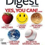 Reader's Digest Magazine for just $3.99/year from today only!
