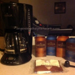 WOOHOO My Gevalia Coffee and Coffee Maker arrived that I paid only $9.99 plus FREE shipping for!