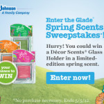Enter to WIN Glade Spring Scents!