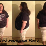 My Nutrisystem Journey to a Healthier Me #NSNation Week 1 Complete