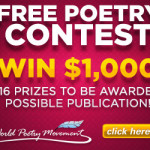 Submit a poem for a chance to win $1000 (116 winners)