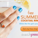 FREE Cocktail Ring Plus FREE Shipping!