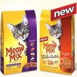 $1.00/1 Meow Mix Dry Cat Food