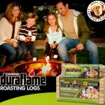 WIN a brand new fire pit AND a supply of duraflame for your backyard!!