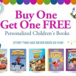 BOGO FREE Personalized Kids Books for only $19.99. Plus a FREE Canvas Portrait Bonus gift!