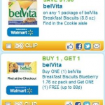 $0.44 for beVita Breakfast at Walmart PLUS belVite coupons have reset!!!