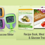 Free Diabetic Meter + PLUS Recipe Book,Meal Planner & Glucose Tracker