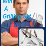 Enter to Win A Grilling Set!