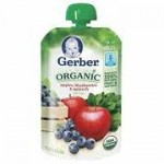 $1.00 off two Gerber Organic baby food