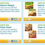 Save on Nature Valley and Fiber One 5 NEW coupons!