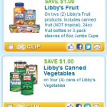 2 New Hot Libby's Coupons