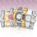 $1.00 plus $4.99 shipping! Surprise! Receive a Ladies' FMD Watch + Fossil Warranty!