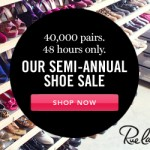 Save big on shoes for school!!! 48 hours only and 40,000 to choose from!