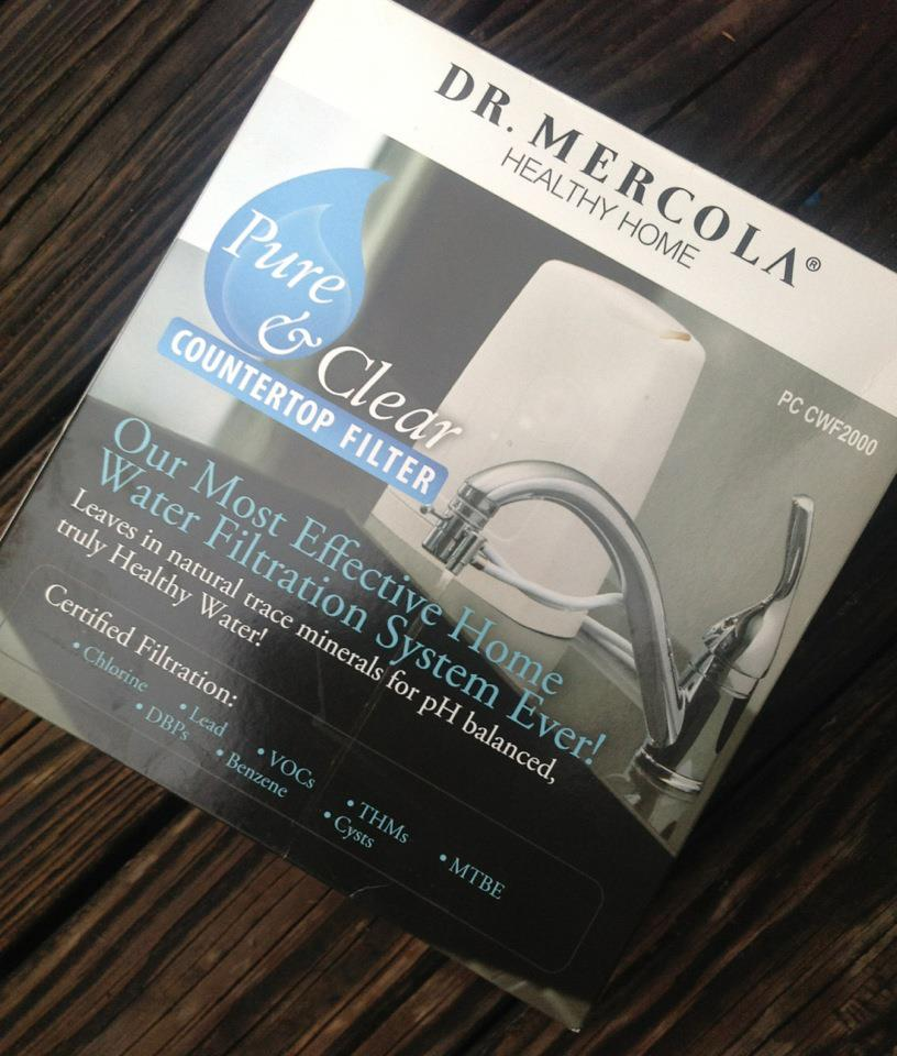 Dr Mercola Healthy Home Pure Amp Clear Countertop Filter Review