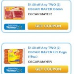 $1.00 off 2 Bacon & $1.00 off 2 Hot Dogs