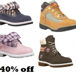 Timberland Friends and Family Sale 40% off site wide!!