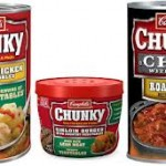 $0.50 off three Campbell's Chunky soup or chili