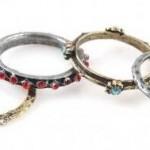 4 in 1 Retro Ancient Antique Rhinestone Rings Set $1.89 Shipped!