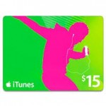 FREE $15 iTunes Gift Card