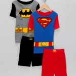 Batman & Superman Pajama Set