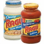 $1.00 off two Ragu Sauces 16 oz or larger