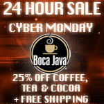 Boca Java  #CyberMonday Giveaway