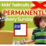 Free Kids' Haircuts Every Sunday at JCPenney