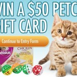 ENTER TO WIN A $50 PETCO GIFT CARD!!