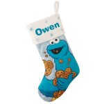 $19.99 for a personalized Sesame Street Stocking (REG. $24.99)
