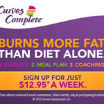 ONLY $12.95 A WEEK FOR CURVES!