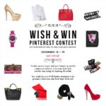 WISH & WIN Giveaway 12 WINNERS!