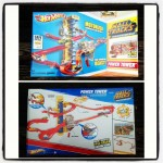 HOT WHEELS WALL TRACKS POWER TOWER Track Set Review