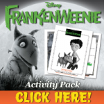 FREE FRANKENWEENIE Printable Activity Pack