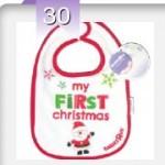 FREE Christmas Baby Bib