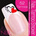 Nail Tattoo Stickers for Valentine Day