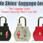 Safe Skies Luggage Lock Giveaway