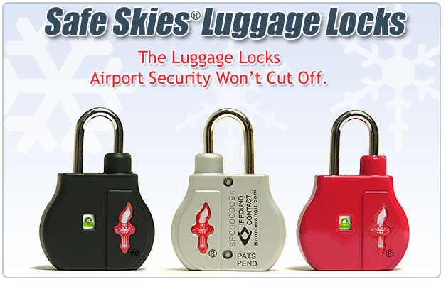 Safe Skies Luggage Locks