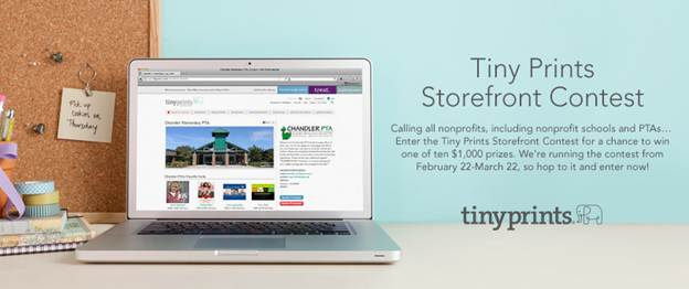 Tiny Prints Storefront Contest