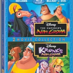 LILO & STITCH, ATLANTIS, EMPEROR'S NEW GROOVE 2-Movie Collections on BR/DVD