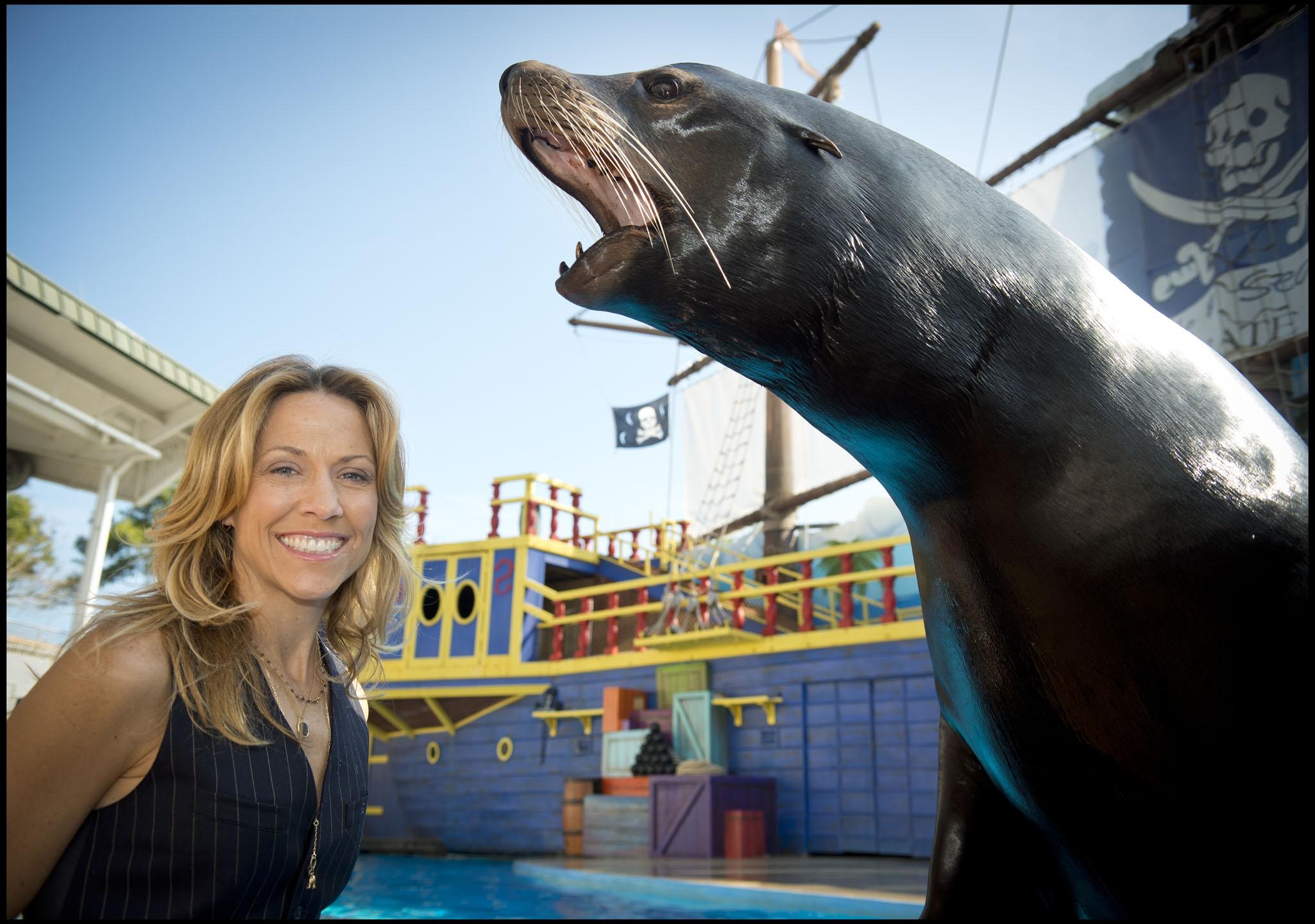 Sheryl Crow and Sea Lion