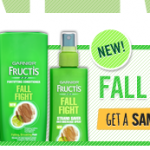 FREE Sample of Garnier Fructis Fall Fight Shampoo & Conditioner