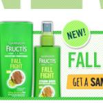FREE Sample of Garnier Fructis Fall Fight Shampoo & Conditioner