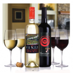 $9.99 – 2 Premium Selected Wines and 4 Crystal Wine Glasses