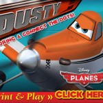 FREE PLANES Coloring & Connect the Dots Pages