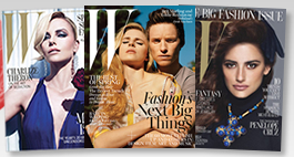 Free Subscription to W Magazine from Rewards Gold